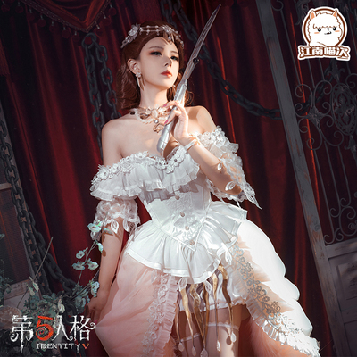 taobao agent Pre-sale Jiangnan Meow Times Fifth Personality Cos Clothes Lady Red Second Anniversary Dress Lady Bella Cosplay Female