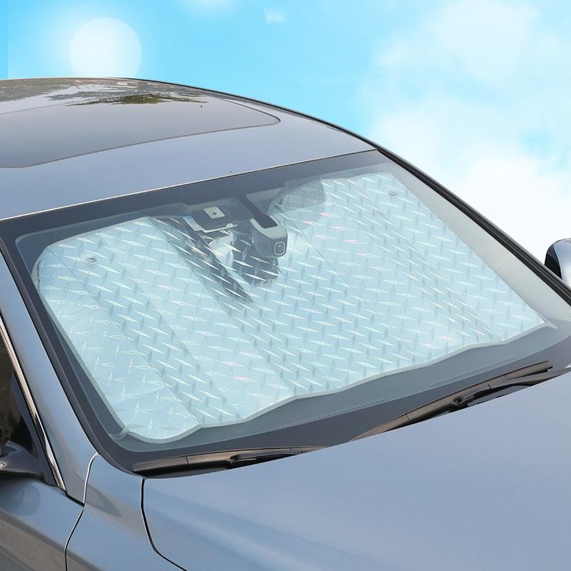 汽车防晒隔热遮阳挡遮阳帘车用挡阳板遮光帘前挡风玻璃窗贴罩窗帘