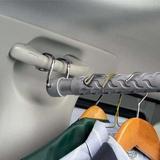 Творческий автомобиль убирающаяся одежда стержень машина одежда стойка бизнес вождение принадлежности вешалка для автомобиля