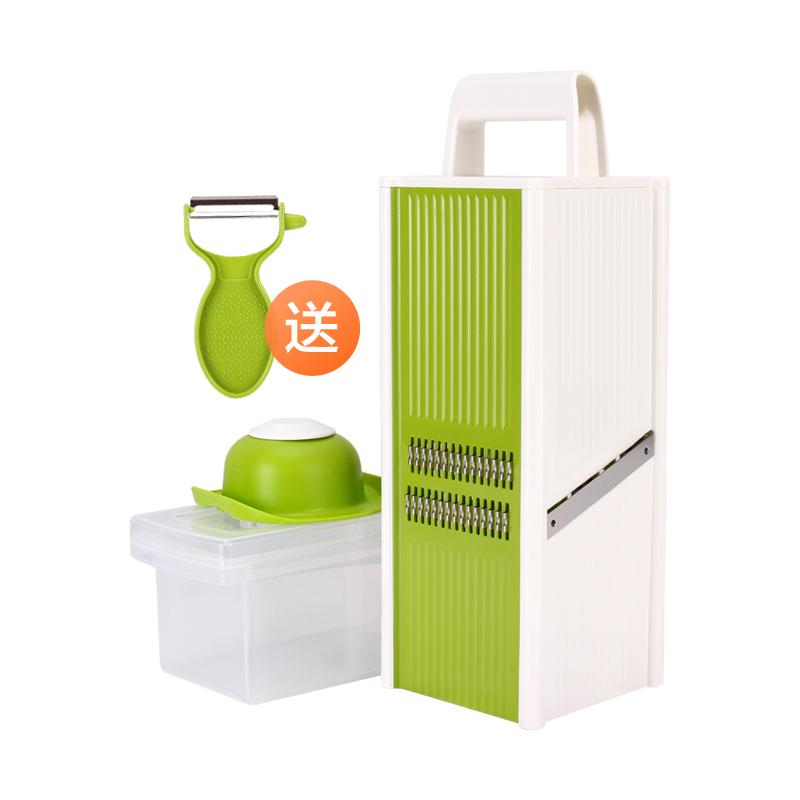 贝瑟斯多功能切菜神器家用土豆丝切丝神器刨丝擦丝器切片厨房工具