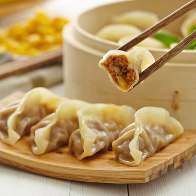 CP正大食品蒸饺玉米蔬菜猪肉蒸饺460g*3袋冷冻速食饺子水饺早餐