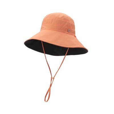 李小冉同款51出游蕉下防晒帽双面百搭渔夫帽女夏遮脸遮阳太阳帽子