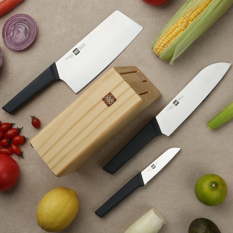 線下只夠買2把 小米生態鏈:火候 青春版廚刀 4件套