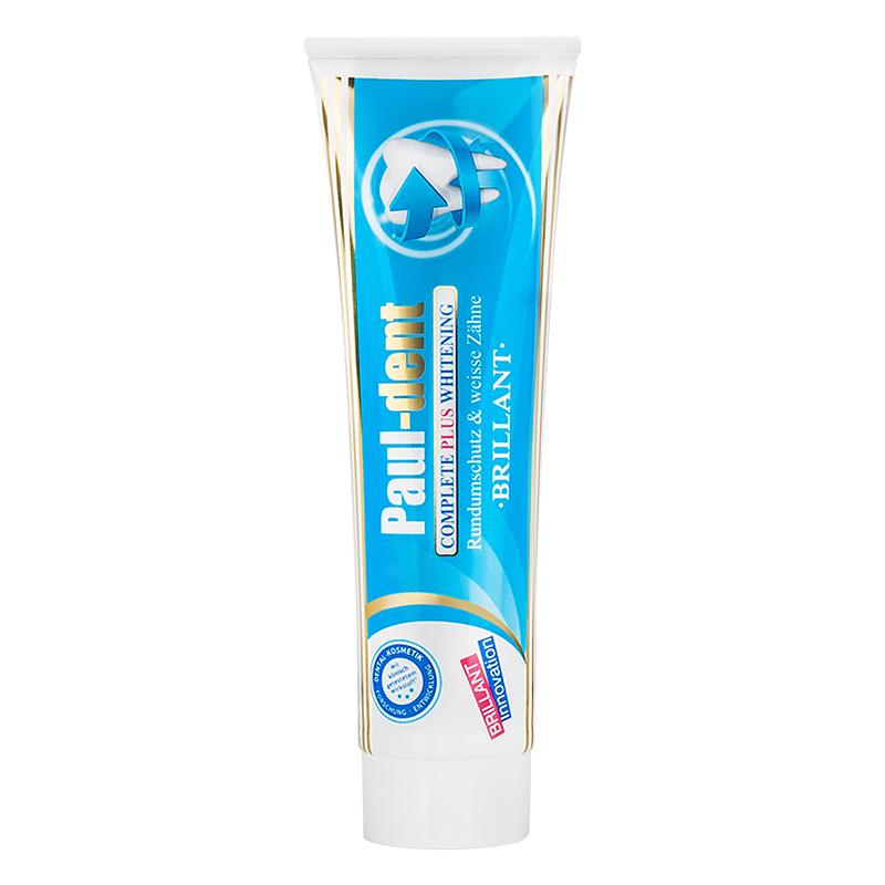 德国进口宝儿德多效全能牙膏护龈护敏去渍低泡低研磨100ml*2套装