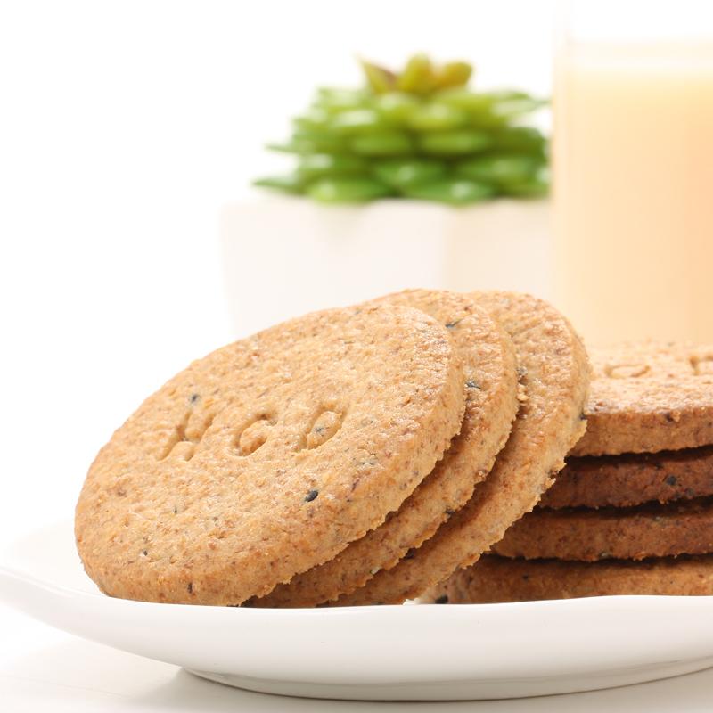 【拍三件】好吃点饼干高纤粗粮饼干3箱