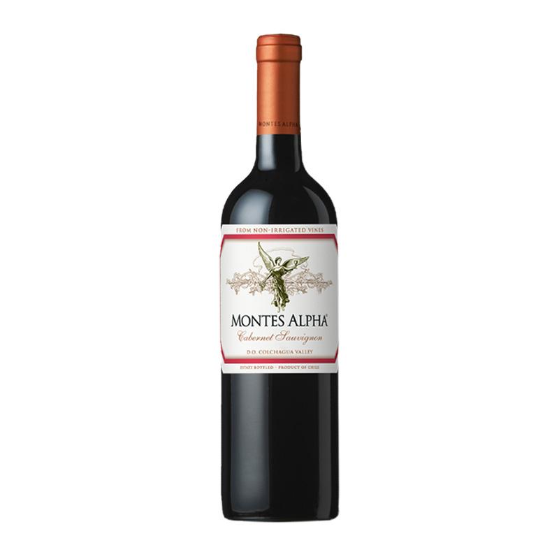 montes智利进口蒙特斯欧法赤霞珠红葡萄酒750ml单瓶红酒干红