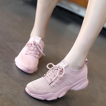 【兩雙88元】飛織透氣運動鞋女