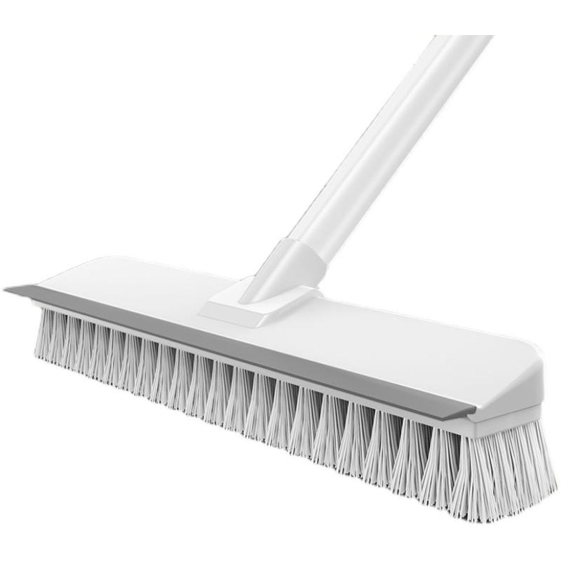 地刷卫生¤间刷地刷子神器长柄厕所浴室家用硬毛洗地清�娼啻勺┑匕逅�
