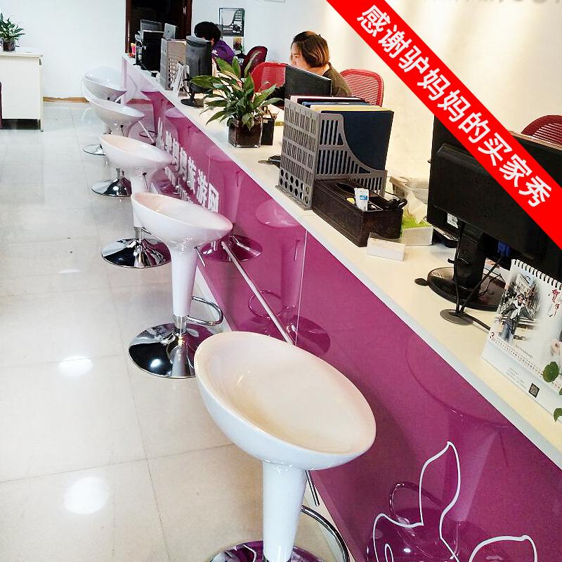 Барный стул Барный стул Европейский поднимая высокий стул современный минималистский бар стул мобильный телефон магазин стул бар стулья высокая стул домой бар