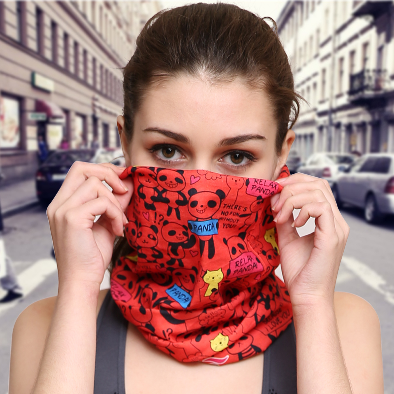 Outdoor magic scarf men's sports women sunscreen collar variety multifunctional absorbent sweat hair band quick-drying riding mask