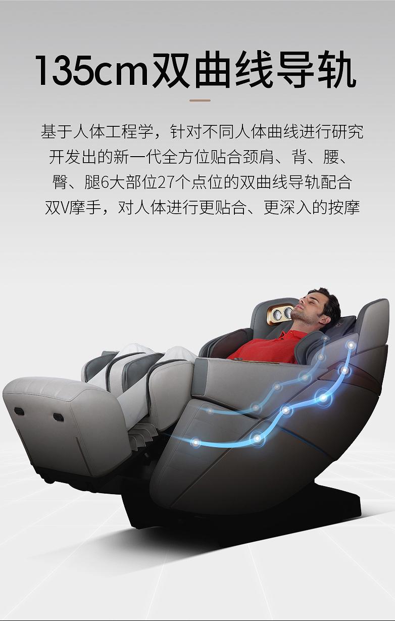 艾力斯特按摩椅R7功能介绍