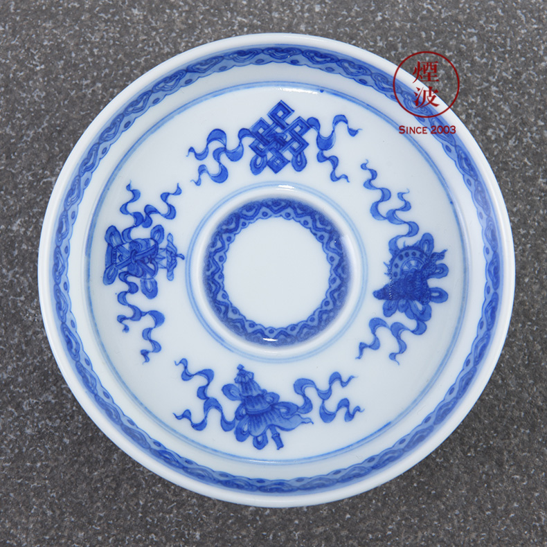 Jingdezhen lesser RuanDingRong made lesser money three - legged ancient incense incense'm burning incense coil head of appliance