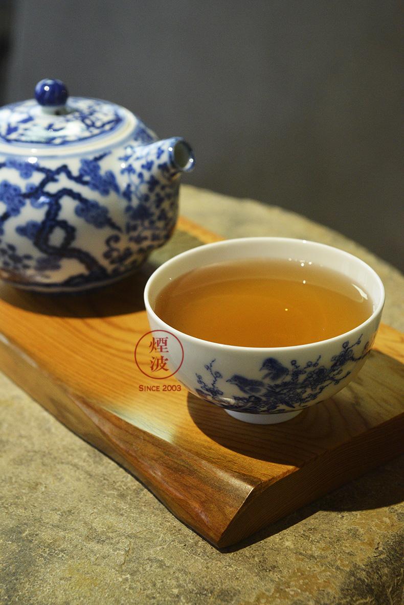 Jingdezhen nine wonderful hand burn hand - made porcelain nine paragraphs peach flower heart bowl of tea cups