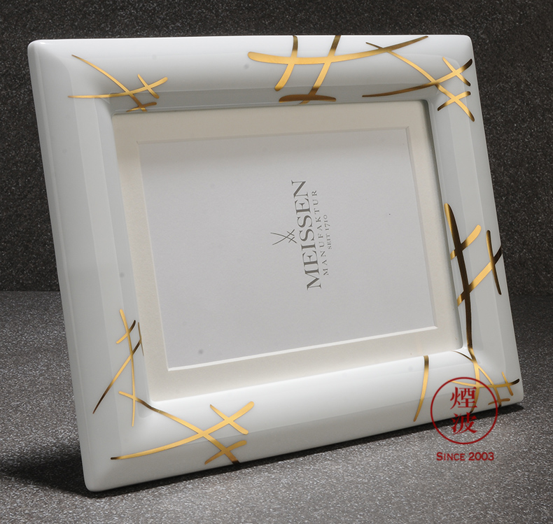 Germany mason mason meisen porcelain table frame drawing frame picture frame furnishing articles 23 * 18 cm