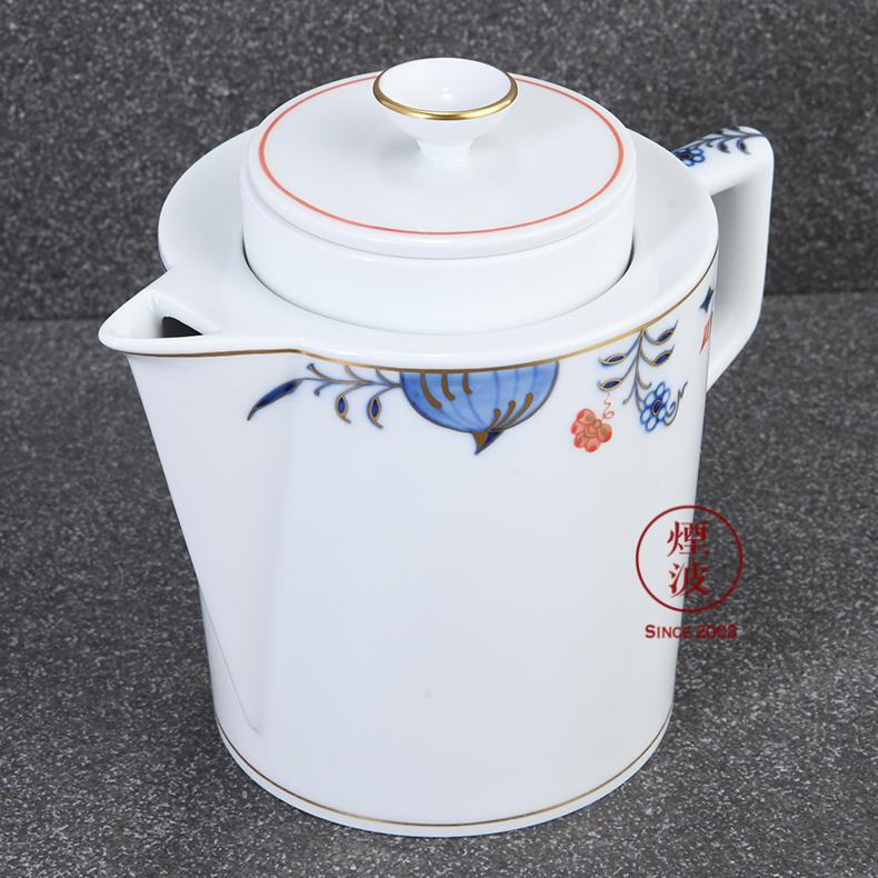 German MEISSEN mason mason meisen pure white porcelain tea series) filter