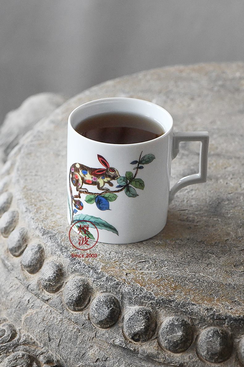 Germany Berlin MEISSEN mason porcelain series magic rabbit keller cup tea cups