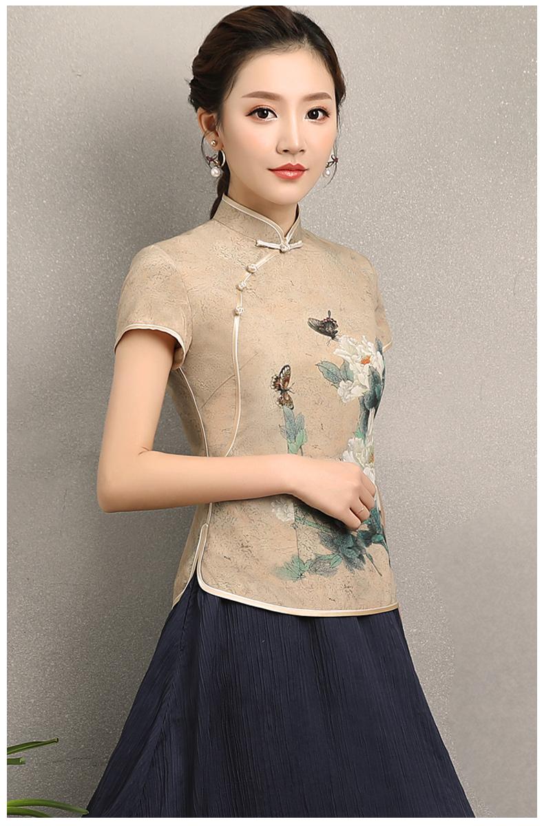 2018春夏新款改良时尚修身旗袍裙(三) - 花雕美图苑 - 花雕美图苑