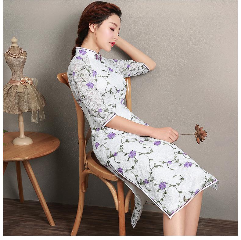 一件旗袍 万般风情(八) - 花雕美图苑 - 花雕美图苑