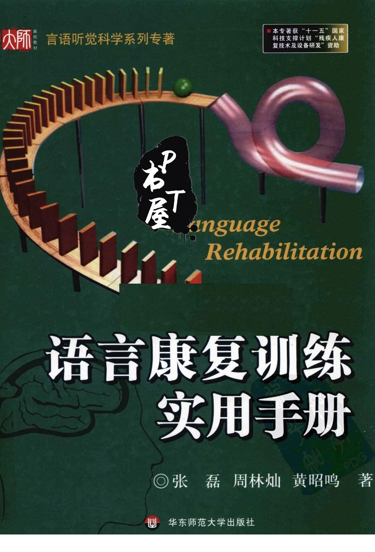 语言康复训练实用手册 Book Cover