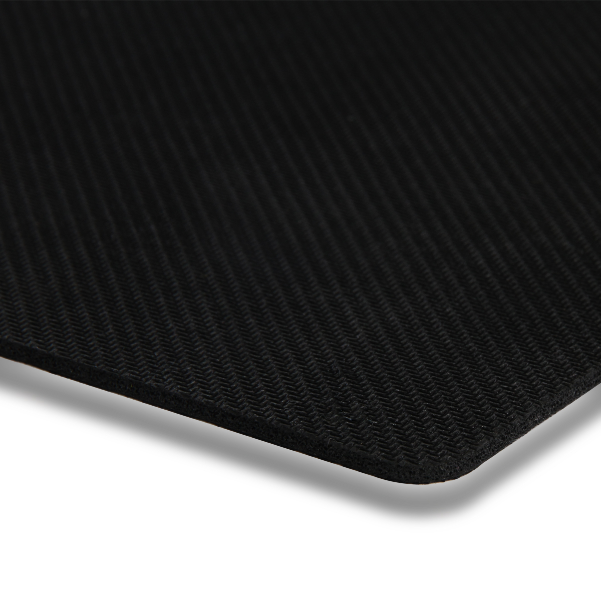 Deli 3692 black padded mouse pad cloth pad rubber material ...