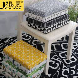 Memory foam student cushion, autumn and winter school chair and stool thickened cotton pad, classroom dormitory chair cushion, non-slip butt pad