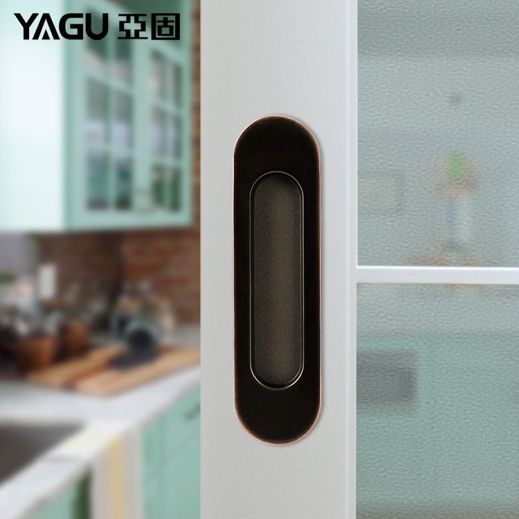 USD 24.13] YAGU modern sliding sliding door folding door Zinc alloy ...