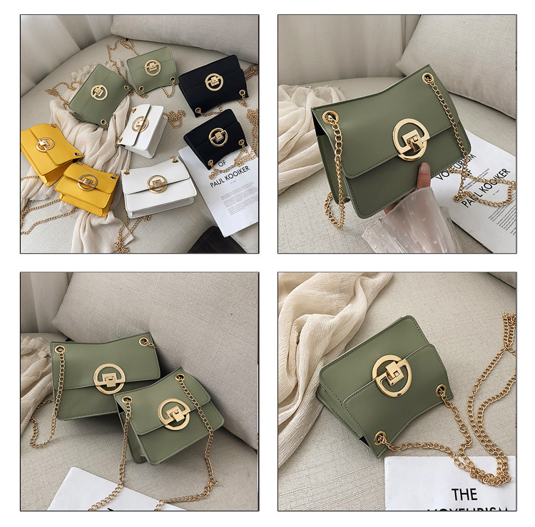 Korean version of the wild simple chain small square package NHXC135594