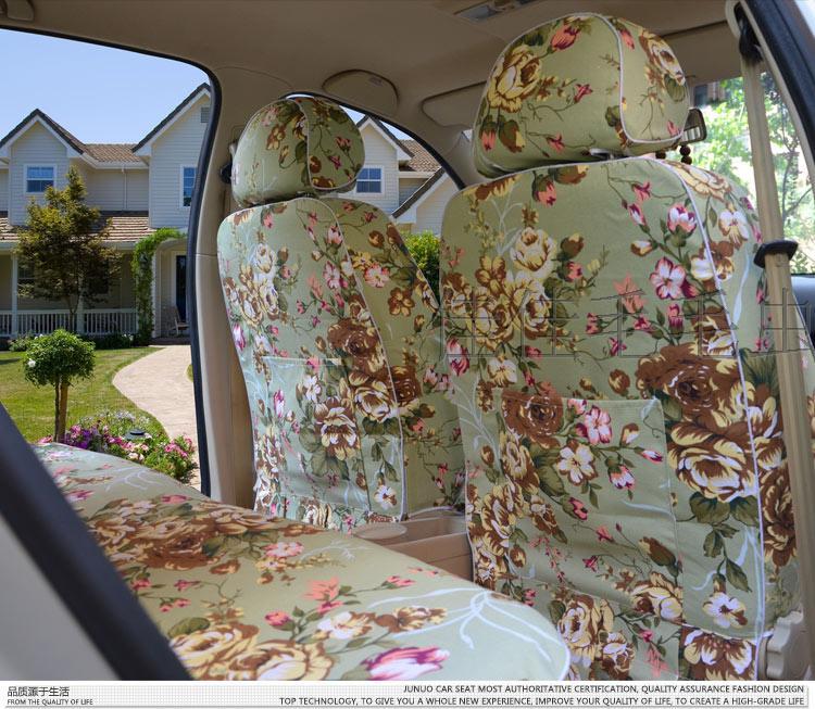 Хлопок автомобиль крышка стандарт четыре сезона комплекты завернутый искусство индивидуальный специальная машина сделанный на заказ автомобиль сидеть крышка ткань подушка крышка
