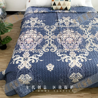 Outside single large size 220x240 bed cover processing quilted quilt spring and autumn quilt sofa bed sheet mattress clip multi-function