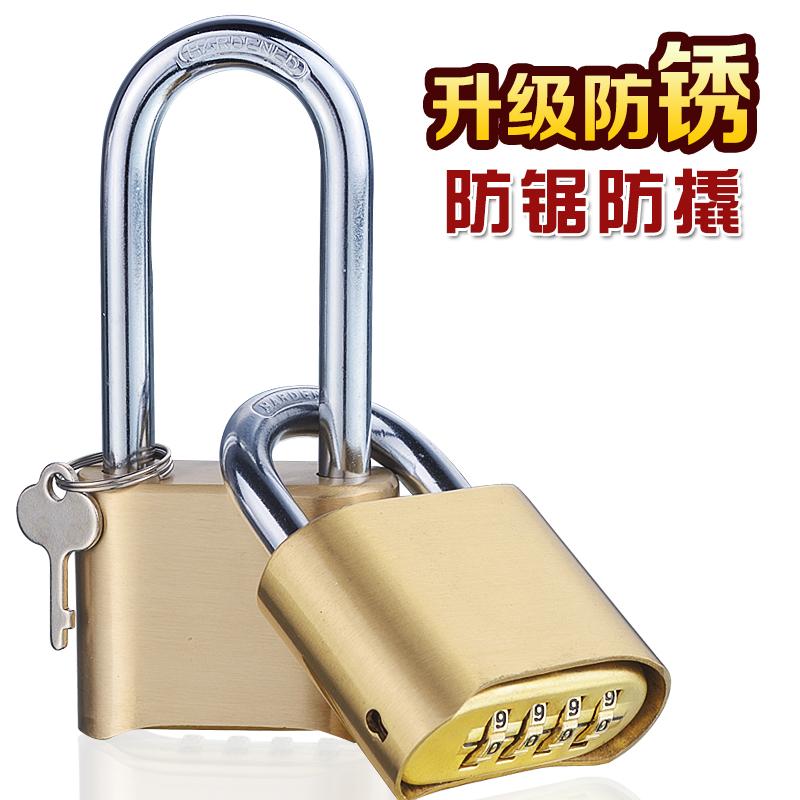 Геометрическом ржавчина 304 нержавеющей стали количество 4 позиция латунь пароль замок удлинять на открытом воздухе склад близко комната дом ворота замок