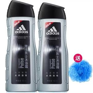 Adidas阿迪达斯男士激情沐浴露男持久留香薄荷浴液家庭装官方正品