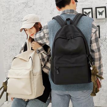 Портфель корейский харадзюку ulzzang старшие классы средней школы младшей средней школы студент рюкзак мужчина простой дикий ins тенденция рюкзак женщина, цена 287 руб