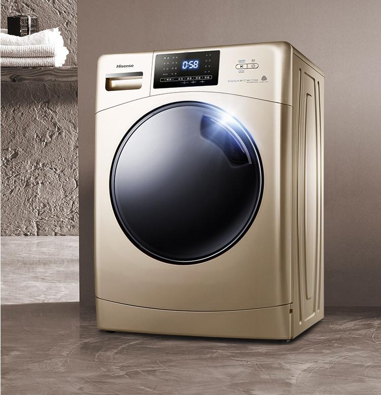 Hisense 海信 HG100DAA125FG 10公斤变频滚筒洗衣机 ¥1599 赠全聚德月饼礼盒