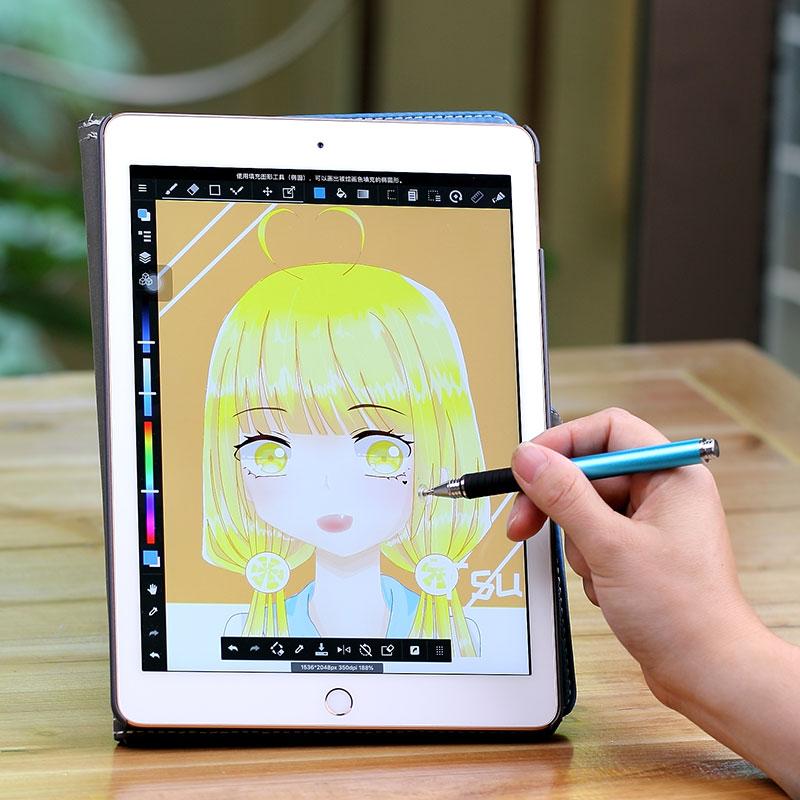 单头款ipad电容笔细头手写笔手机平板触屏笔 绘画通用触控笔