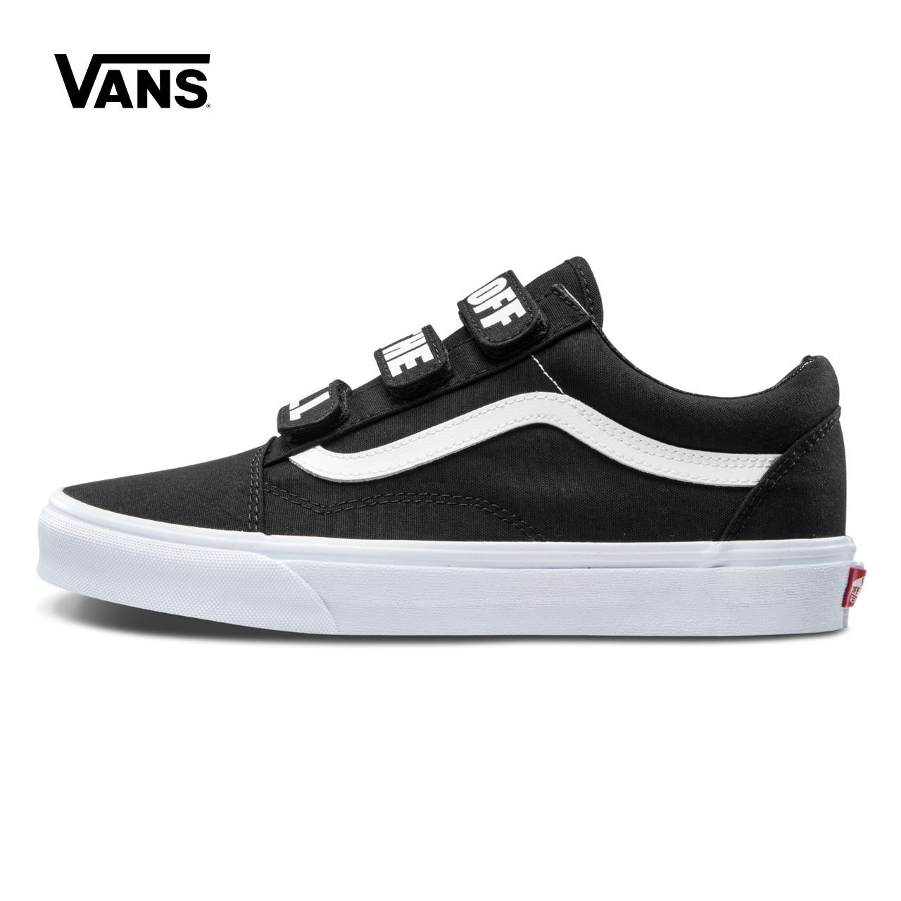 Vans/ модель этот весна черный / белый из денег холст обувь  VN0A3D29R2P/R2Q