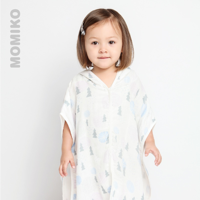 f69ace2ff0 USD 29.56  Li family baby mummy Miya baby bathrobe children bamboo ...