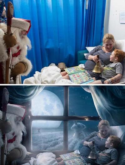 圣诞魔法照片