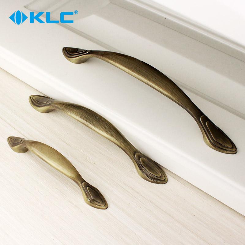 klc櫥柜抽屜拉手美式青古銅衣柜門把手現代簡約歐式柜子小拉手