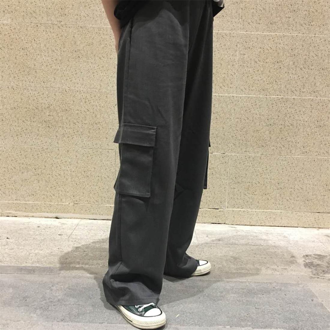 Hàn Quốc hãng phim Hàn Quốc người đàn ông và phụ nữ với các trường học cũ túi lớn Mỹ retro dụng cụ quần short