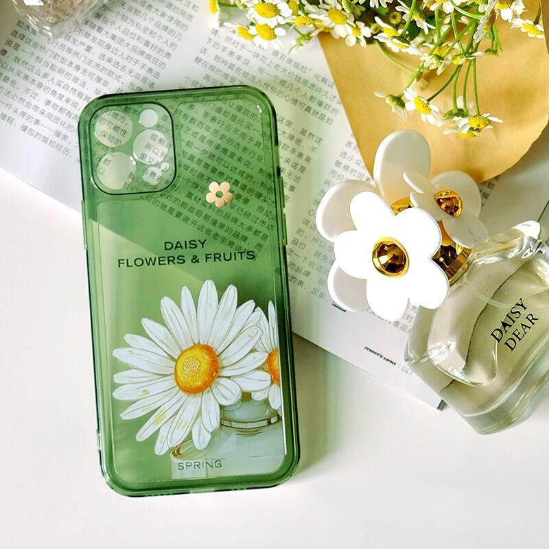 原创小雏菊香氛适用华为mate40pro手机壳送同款香水iPhone12硅胶超薄防摔保护套xs全包镜头小众ins女款高级感