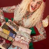妖精的口袋 IP联盟款 女士印花高弹皮肤衣长袖T恤*3件 拍3件,券后119.8元包邮(折合39.9元/件)