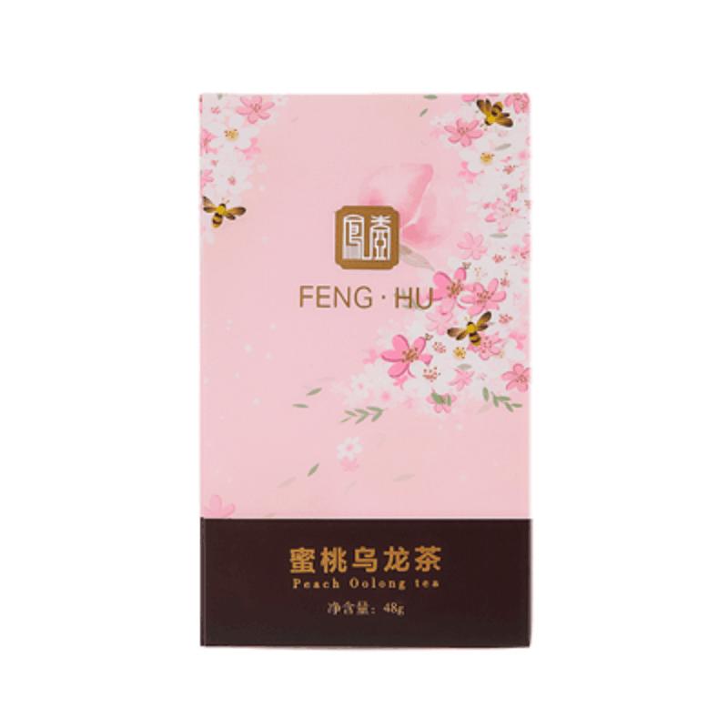 凤壶蜜桃乌龙茶包三角袋泡茶水果茶养生茶花果茶日本茶冷泡茶�镅�生