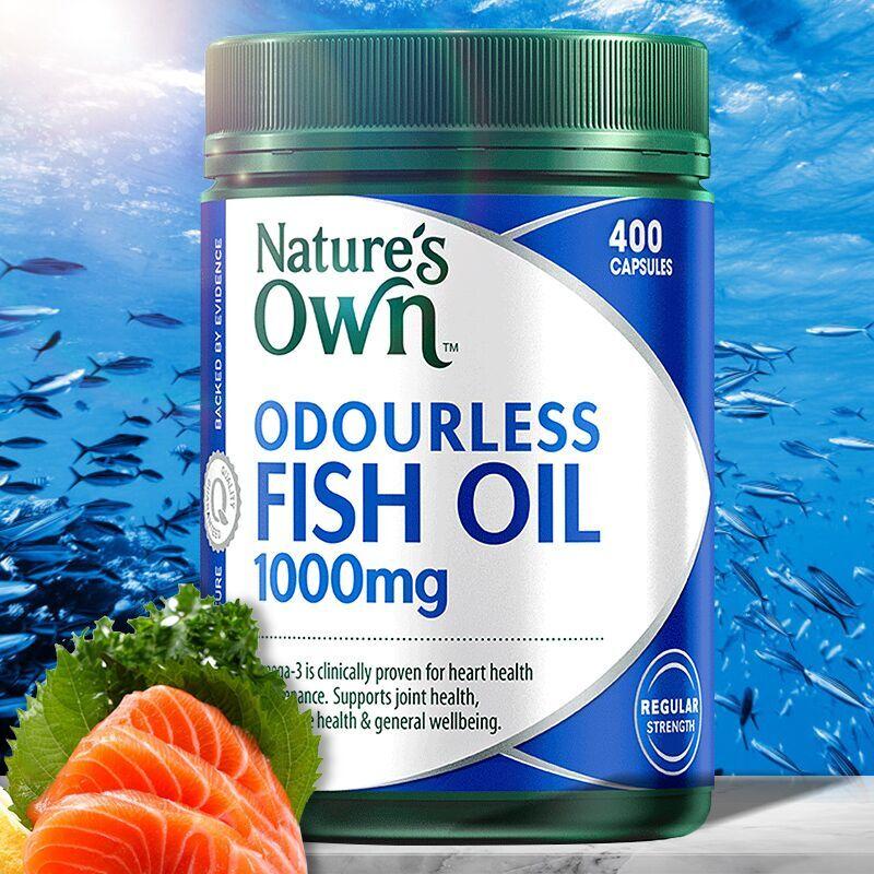 澳洲natures own自然澳深海鱼油胶囊补omega-3中老年保健400粒_天猫超市优惠券