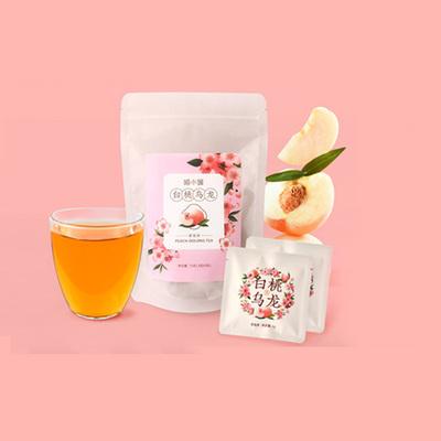 喵小媛白桃乌龙茶日本风味蜜桃乌龙水果茶花果茶罐装送朋友冷泡茶