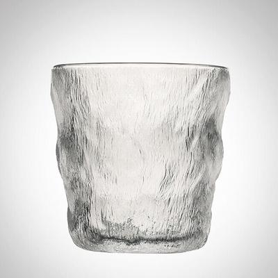 网红家用耐热冰川玻璃杯日式夏季女水杯高颜值咖啡杯子客厅ins风