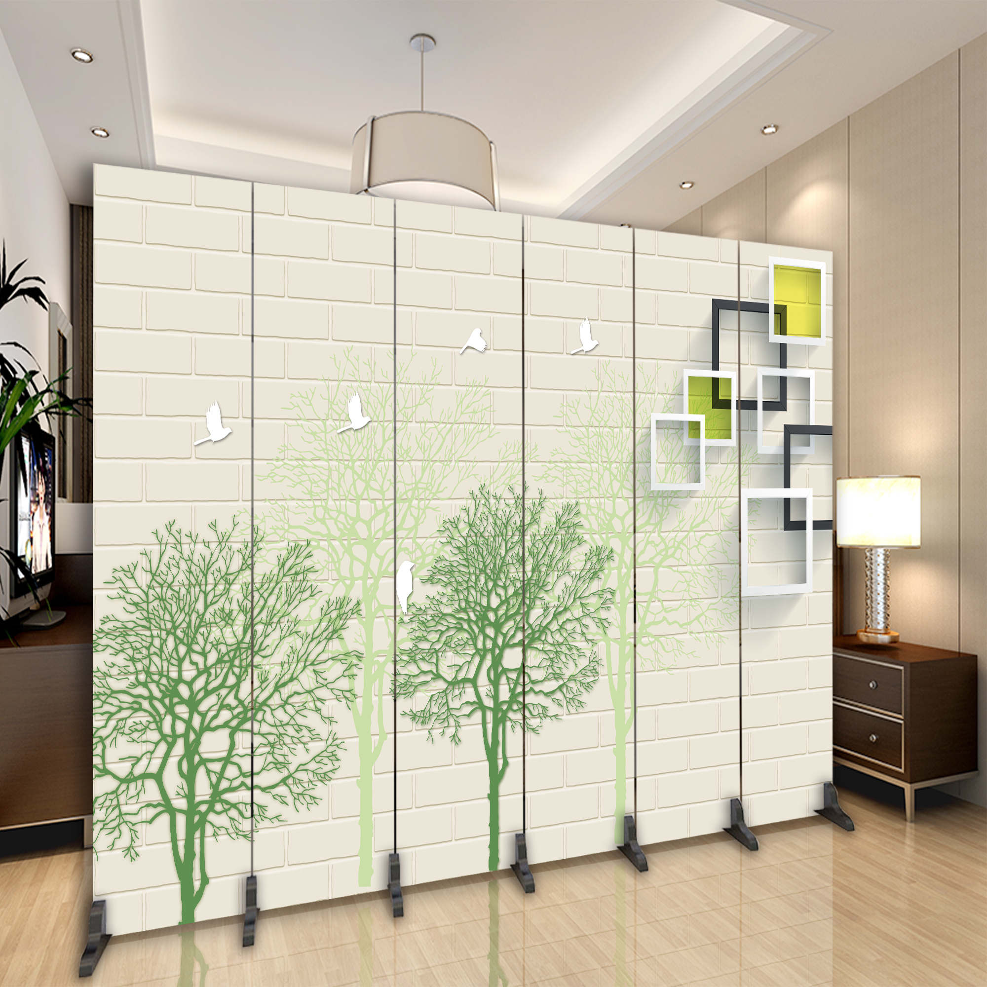 Screens-partitions for the room: types and purpose 6