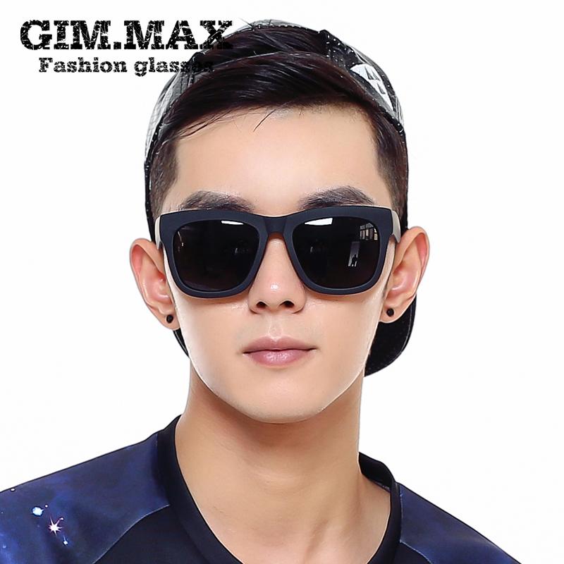 2017 новый темные очки мужской квадрат поляризующий очки волна черный ретро защита от ультрафиолетовых лучей водить машину близорукость очки