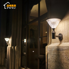 Solar wall lamp cour...