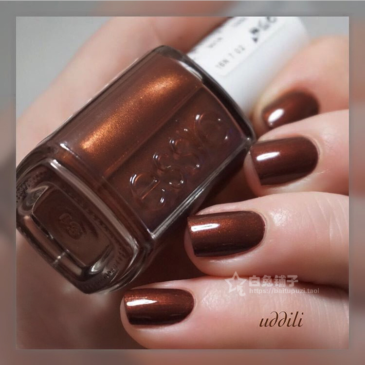 USD 8.85] American ESSIE nail polish winter 1008 Ready To Boa Pearl ...