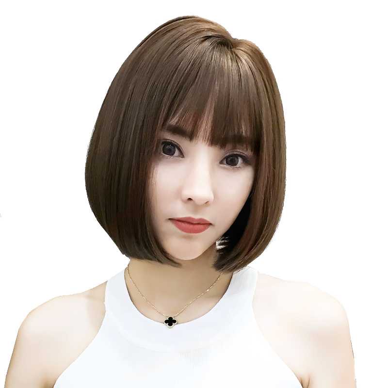 Usd 36 04 Charm Silk Doraemon Korean Side Wig Short Hair Bobo Head